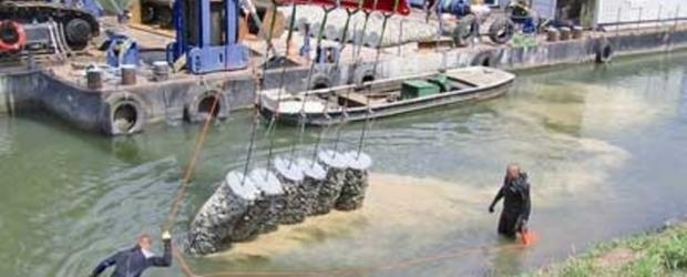 ТЕССО® мрежа за стабилизиране на речни брегове